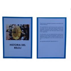 Historia del reloj y experimentos